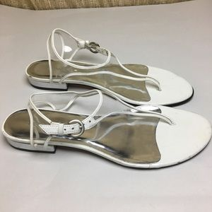 c93c0bda6 Bernardo Shoes - Bernardo Clear Thong Sandals Sz 8M